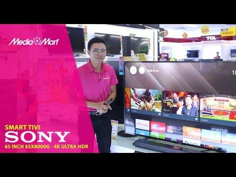 Smart Tivi 4K Sony 65 inch 65X8000G  – Sắc nét ấn tượng