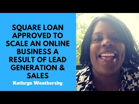 Square Capital Loan Approved to Scale an Online Business