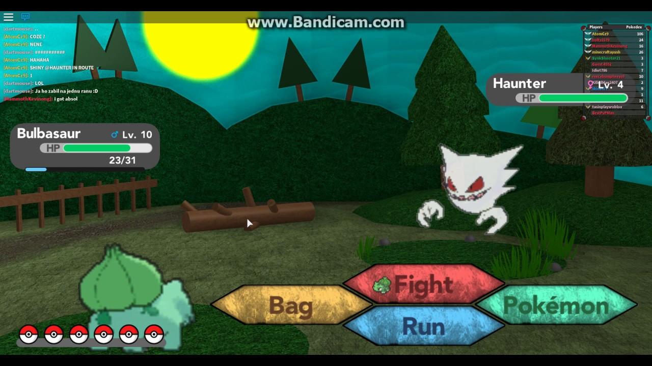 I FOUND SHINY HAUNTER IN ROUTE 1 ! -Roblox-Pokemon Brick ...