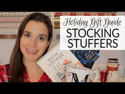 Holiday Gift Guide 2017 | Stocking Stuffers