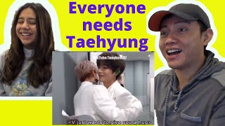 Download lagu BTS (방탄소년단) | Everyone needs TAEHYUNG in their lives!! | Taehyung moments | Reaction Video