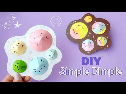 DIY Pop It Fidgets! Viral TikTok fidget toys / how to make Pop It fidgets /TikTok fidget toy/ DIY