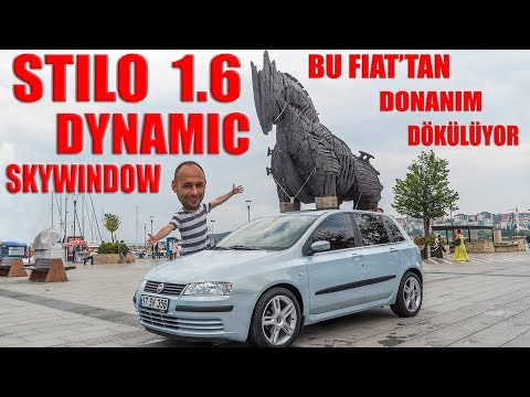 #FIAT #STILO 1.6 16V HB DYNAMIC SKYWINDOW (2004) NASIL BİR ARABA?