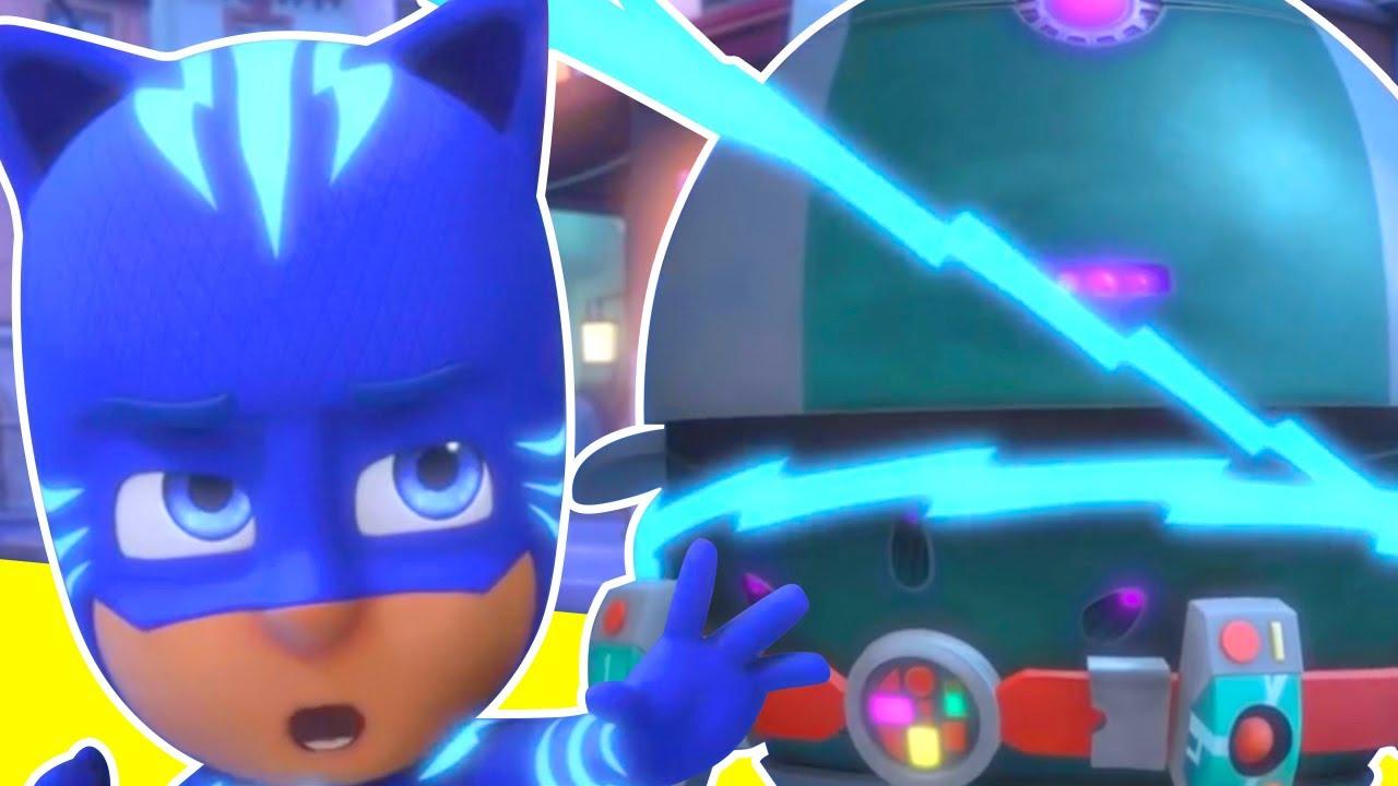 Heroes en Pijamas Español 2020 - los Super Poderes del Robot Malvado - Dibujos Animados Pj Masks