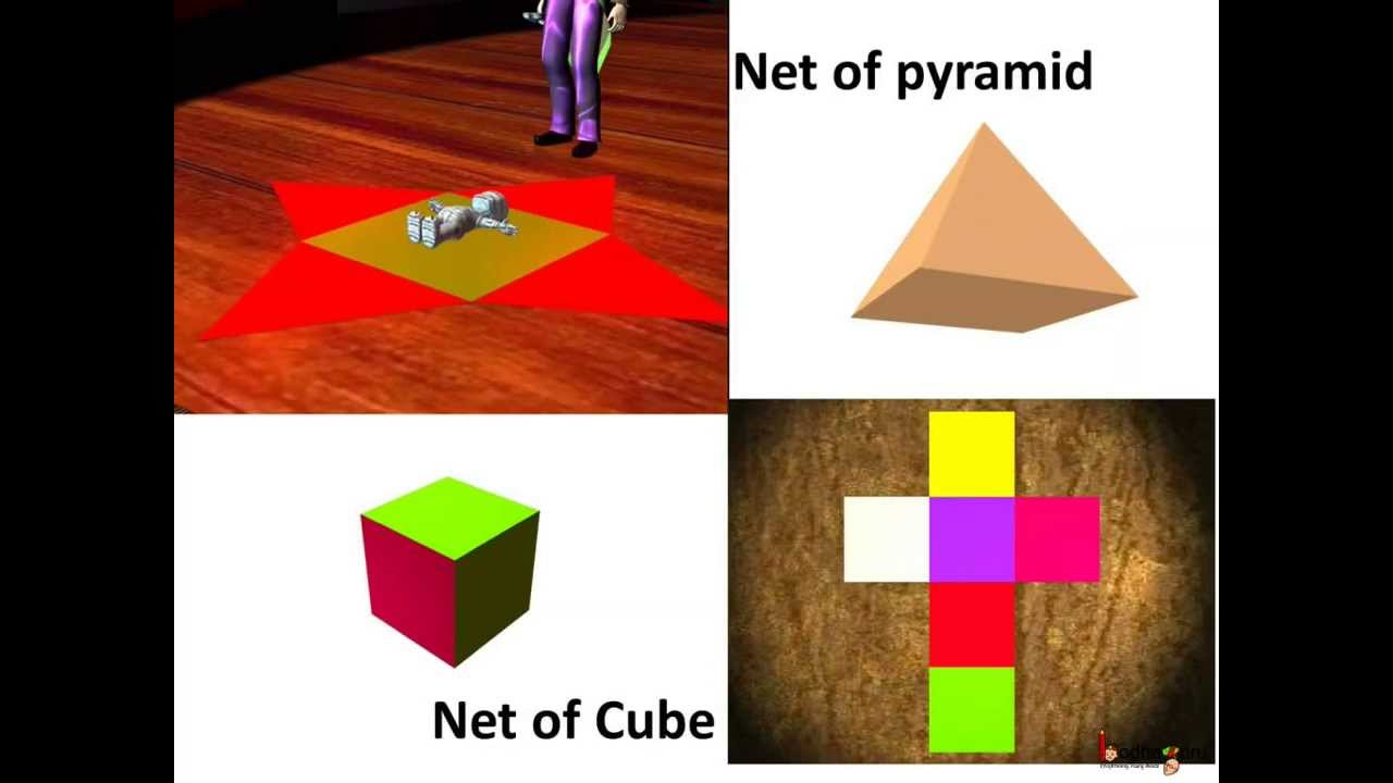 Maths Nets Of Solid Shapes Cuboids Prism English Youtube