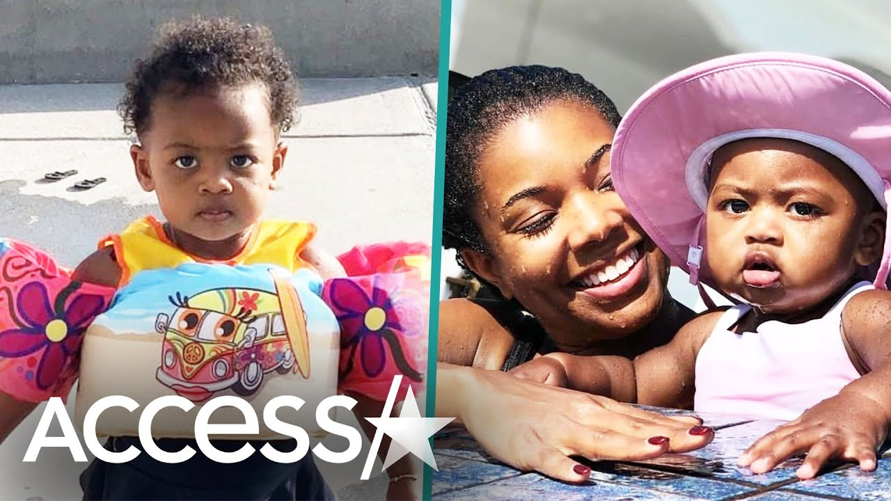 Gabrielle Union's Daughter Kaavia Is Swimming At 16 Months: See Her Confidence!