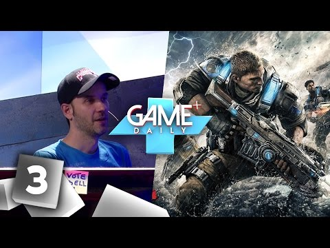 [3/4] The Bunker, Gears of War 4 | Game Plus Daily mit Colin, Sebastian und Dennis | 22.09.2016