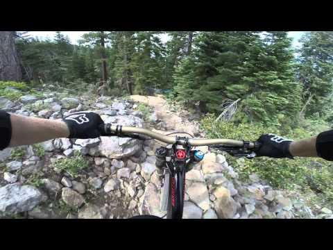 Hilarious Downhill Run with some Sick Riding... Claudio Caluori Spoof!
