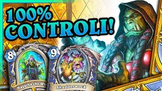 100% controli w controli! - Control shudderwock shaman - Hearthstone Deck (Saviors of Uldum)