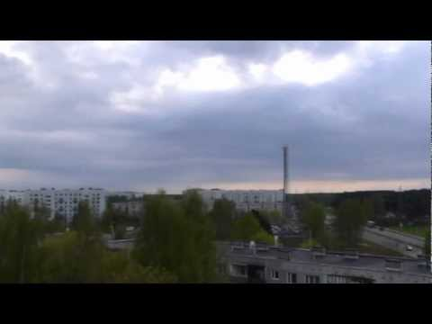 Weather time lapse, Riga, Latvia | May, 2010