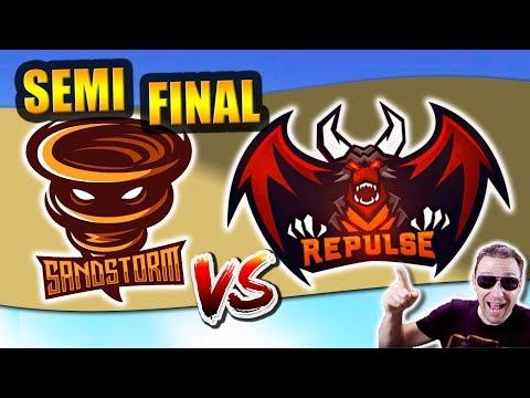 RPL WORLD SEMI-FINAL: SANDSTORM vs TEAM REPULSE A - Clash Royale eSports
