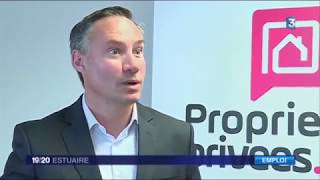 Reportage de France3 sur la reconversion professionnelle