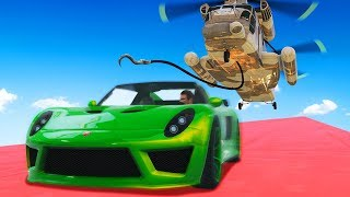 MISSION IMPOSSIBLE: PICK UP THE 150MPH SUPERCAR! (GTA 5 Funny Moments)