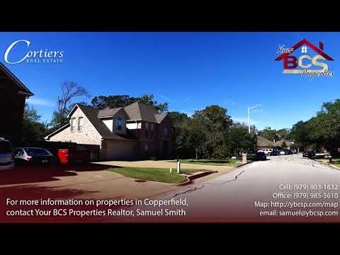 Copperfield Bryan Realtor Tour | Your BCS Properties