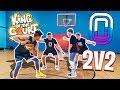 INSANE 2v2 & 1v1 KING OF THE COURT BASKETBALL! 2HYPE vs Overtime TW