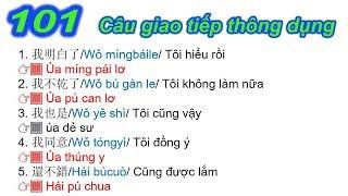 101 Câu giao tiếp tiếng Trung thông dụng