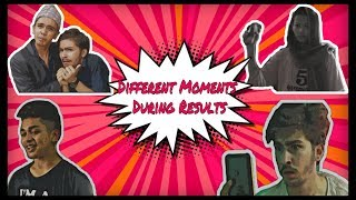 Moments During Results|Nepali Comedy Video| Saurav Bastola Vines ft.Amrit | Bipin| Susmita