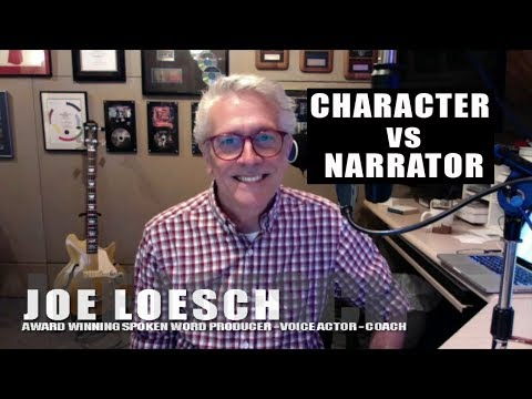 CHARACTER Vs NARRATOR - AUDIOBOOKS  Ep16