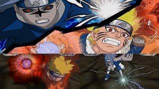 Naruto Gekitou Ninja Taisen! 4 Walkthrough Ending Part 21 - Nine Tails Naruto vs Sasuke Curse Mark 2