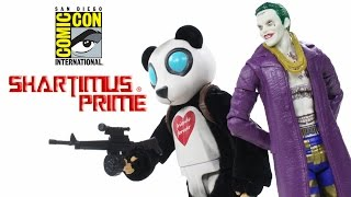 Suicide Squad Joker and Panda Man SDCC 2016 Mattel Exclusive MattyCollector Toy Action Figure Review