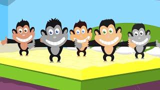 Cinq petits singes