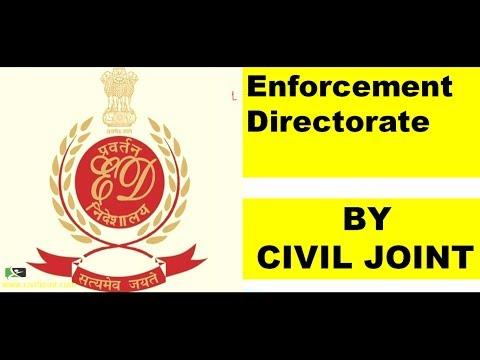 Enforcement Directorate BY CIVIL JOINT
