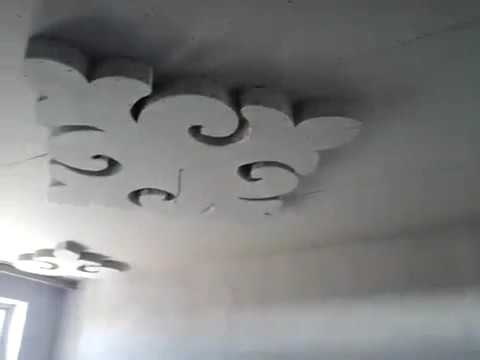 узор потолок фото