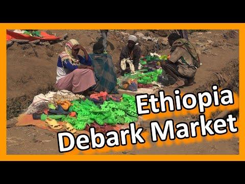 Ethiopia - Market in Debark: struggle for a living thumbnail