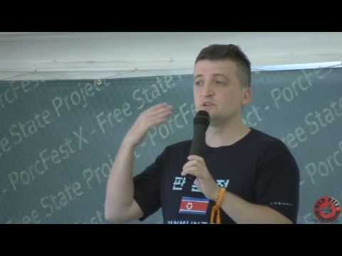 Michael Malice -  The Libertarian Guide to north Korea the Happiest Place on Earth - PorcFest X