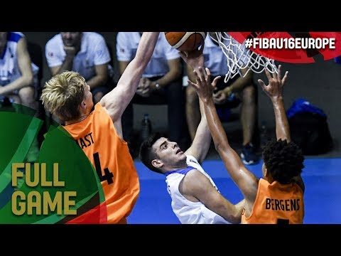 Greece v Netherlands - Full Game - Final - FIBA U16 European Championship 2017 - DIV B
