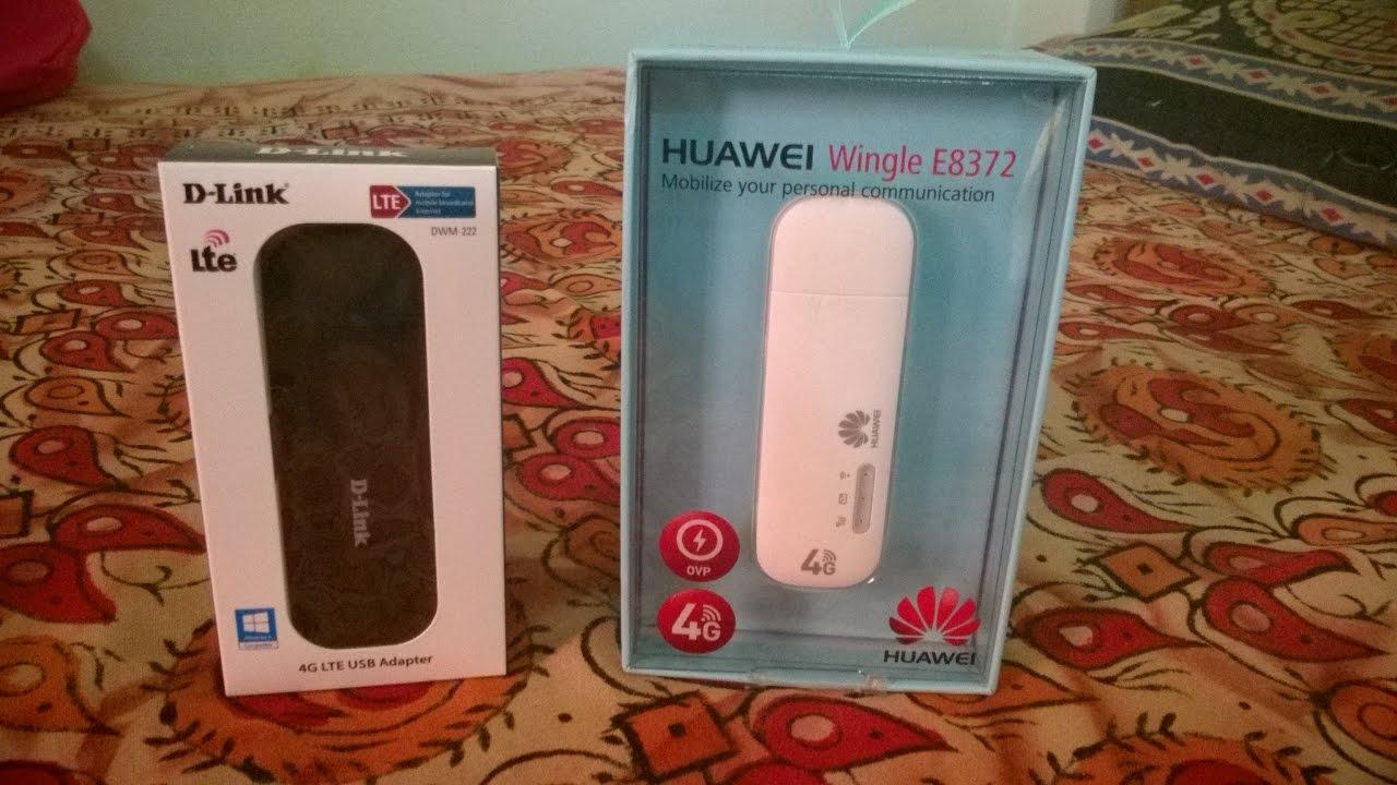 Huawei E8372 Amp D Link Dwm 222 4g Lte Wifi Dongles Dual