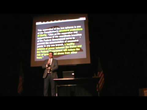 Sheriff Richard Mack Presentation in Thief River Falls, Minnesota, March 9, 2013, Part 3