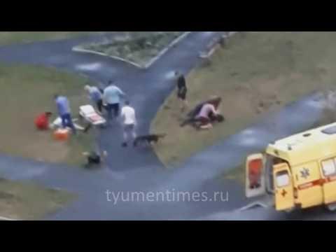 Драка с поножовщиной, Тюмень, Мыс, 21-07-2019