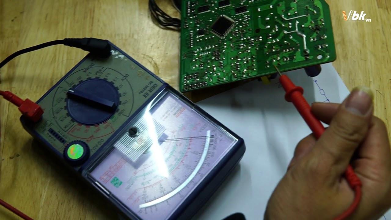 Hướng dẫn dò và vẽ khối nguồn của bo mạch điều hòa LG Mono