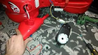 Доработка машинки (реверс двигателя)