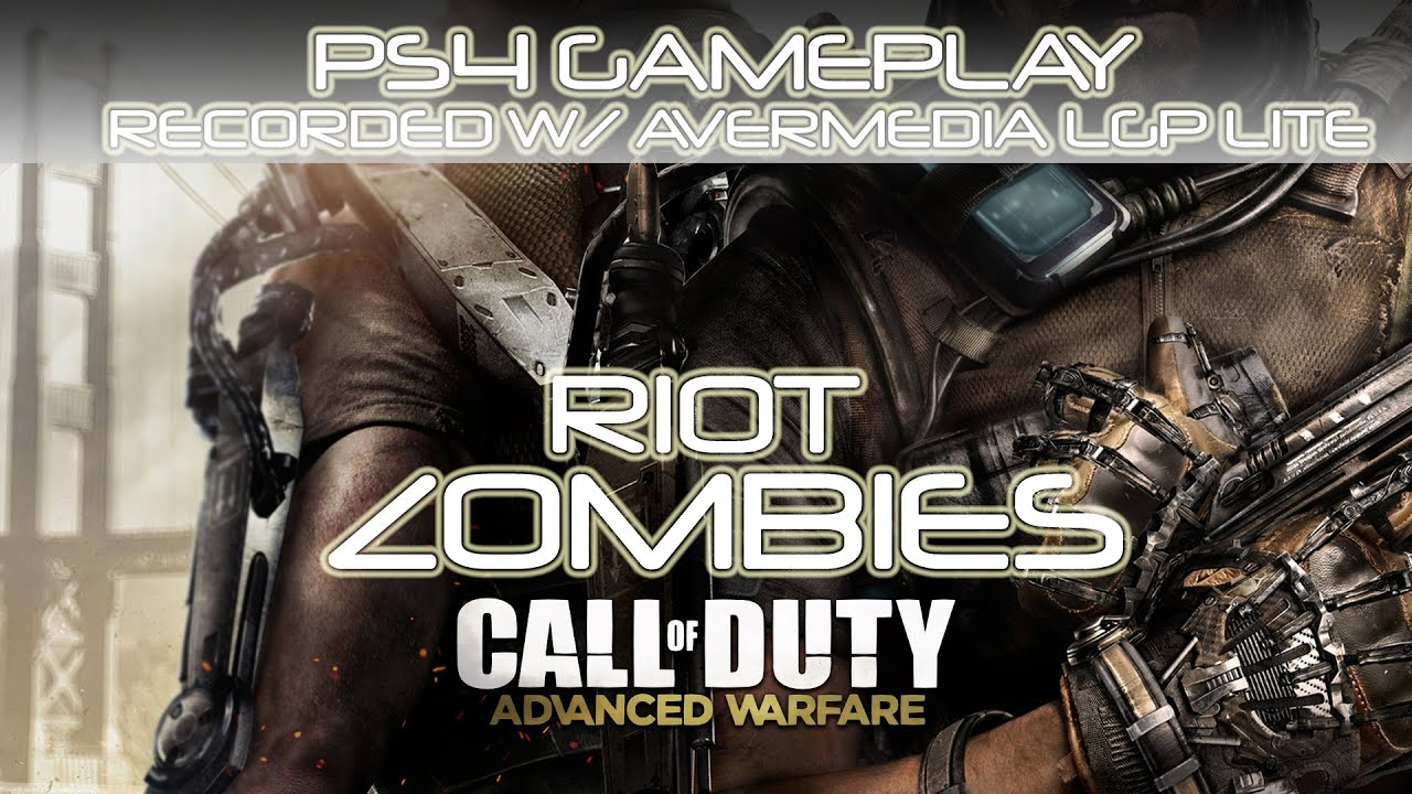 call of duty advanced warfare riot zombies ps4