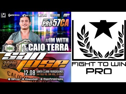 Fight to Win Pro 57 MAIN EVENT: Caio Terra vs Marcelo Cohen
