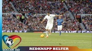Jamie Redknapp's Fantastic Goal | Soccer Aid