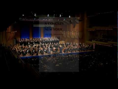 New York Philharmonic 'A Concert For New York' - Mahler Symphony No. 2
