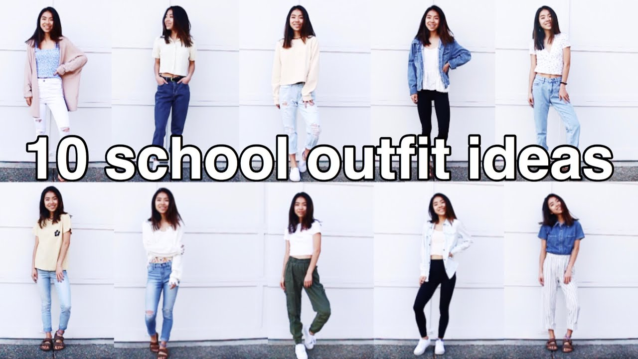 29 SCHOOL OUTFIT IDEAS // Spring + dress code approved