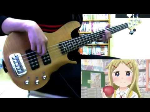 Denki-gai No Honya-san OP「Kajirikake No Ringo」Bass Cover