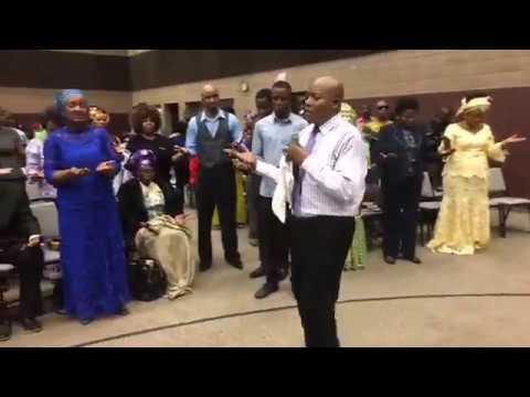 Pastor Jubril's POWERFUL PRAYER causes Demons to manifest