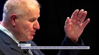 Sénat : Gérard Larcher se fait entendre par le gouvernement