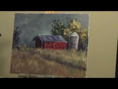 30 minute landscape painting -