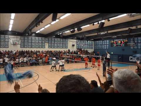Corona Del Mar Vs Huntington Beach Volleyball Set 3 5-14-16
