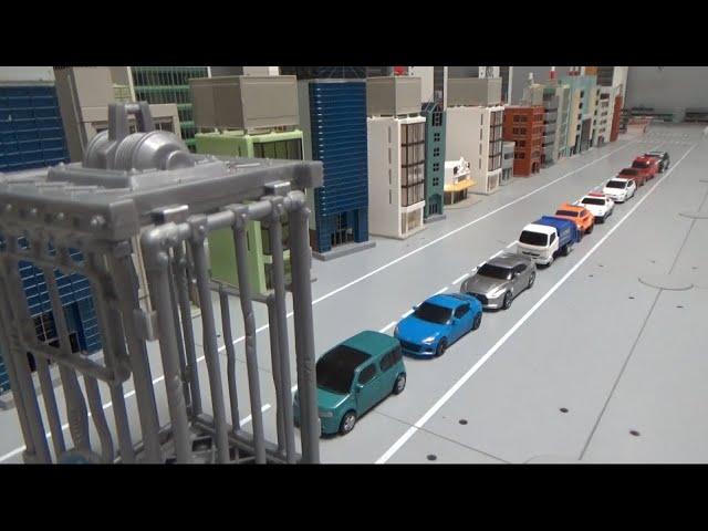 10대 자동차 로봇, 우리에 들어가기 10 car robots, enter cage