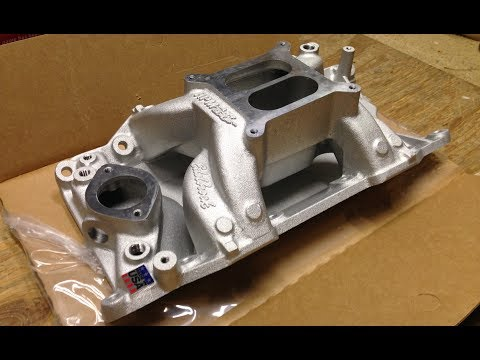 Download Youtube: Edelbrock Performer RPM Air Gap Intake Unboxing