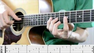Как играть песню 9 crimes ( Damien Rice ) на гитаре. Часть 4