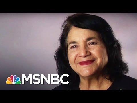 Dolores Huerta: Labor Activist | 7 Days Of Genius | MSNBC