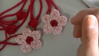 Como hacer flor y brote de cerezo